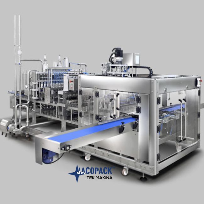 10 Linear Yogurt Ayran Filling Sealing Machine