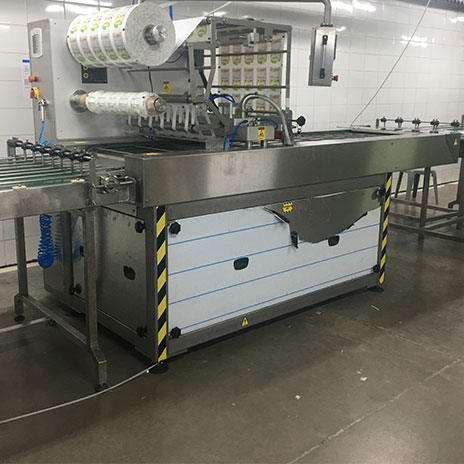 Tray Sealing Machine with Modified Atmosphere Packaging (MAP)