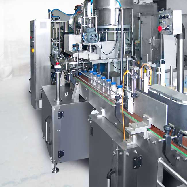 Bottle Washing Filling and Capping Machine