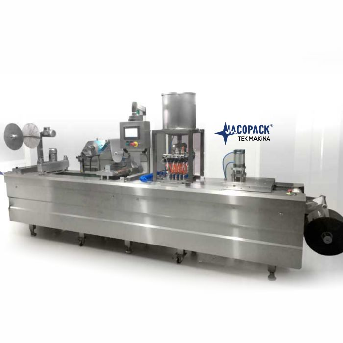Thermoforming Packaging Machine  for Small Portions