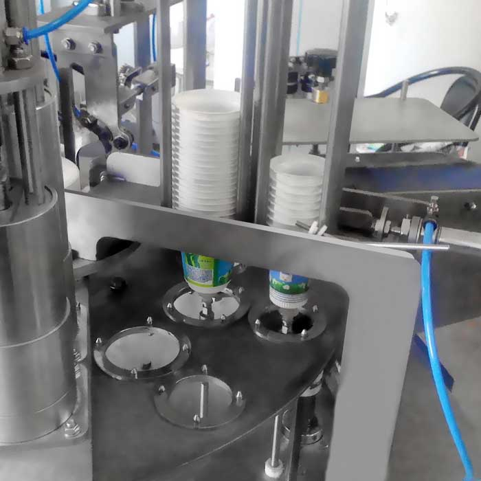 Cup Filling Machine - 2 line Rotary